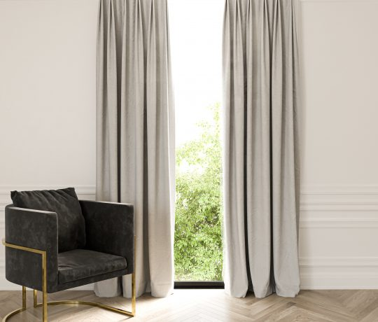 French Pleat Linen curtain
