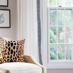 Curtain Panel designer fabric Window treatment