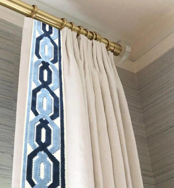 Window treatment french drapery (1)